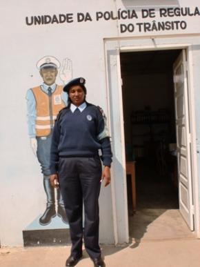 Polícia no Namibe, Alda Rosa Francisco