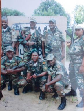 Maria Muvale Nganda, Capitão Marisa da Brigada 41 do Exército