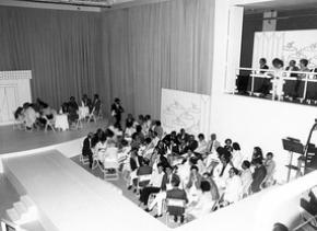 ACARTE 1984 Almada Negreiros 'Deseja-se Mulher', text Almada Negreiros, director Fernanda Lapa (Sala Polivalente), Prodution ACARTE. Courtesy Calouste Gulbenkian Foundation archive