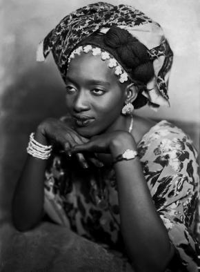 Mama Casset, Senegal, 1950