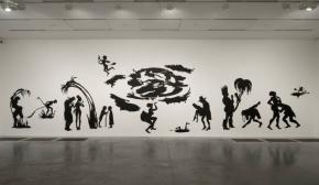 Central to artist Kara Walker's work is Black history, its telling and re-telling, and the effect this has on African-Americans today. She attacks racial myth and stereotypes, exploring issues such as slavery, sexuality, oppression and domination.