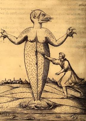 Ipupiara [do tupi monstro marinho]