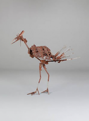 Bird of Peace, escultura de Hilario Nhatugueja