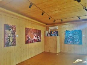 Thó Simões, Senhores do Vento, Mov'Art, Luanda, 2017. Foto Ana Balona de Oliveira.