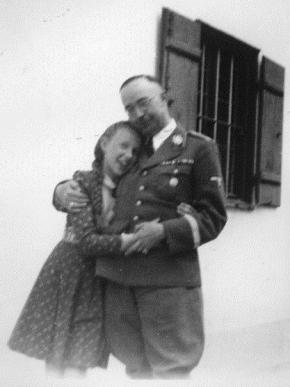 Himmler com a filha