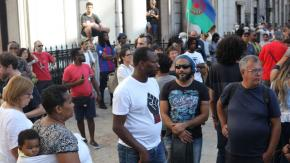 Several demonstrations have taken place in Lisbon with protesters rallying against racism and police brutality.