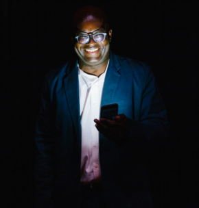 Achille Mbembe, fotografia de Miguel Manso