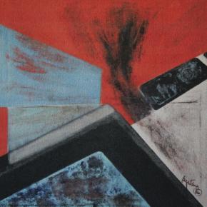 Projecto, óleo s/tela, 1986, Col. Museu Nacional de Arte, Maputo