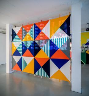Yonamine, Union Jacking, The Voice of the Voice£ess,  Gallery Cristina Guerra, Lisbon, images Vasco Stocker Vilhena
