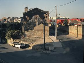 Cruzamento da rua da Quinta dos Ourives com a Azinhaga da Salgada (1998), Pedro Letria