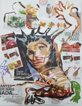 Eat time | 2017 | Cristiano Mangovo  (courtesy of the artist and MOVART gallery)
