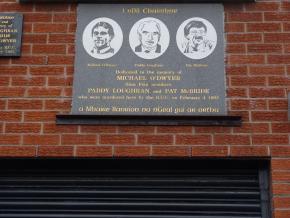 memorial a vítimas Sinn Fein