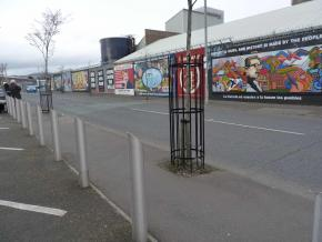 murais em Belfast