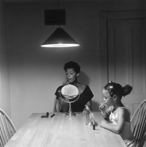Kitchen table, Carrie Mae Weems