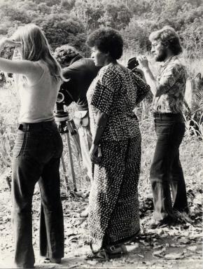 'Tournage  Sambizanga', Sarah Maldoror/ Angola, o nascimento de uma nação. Vol. II