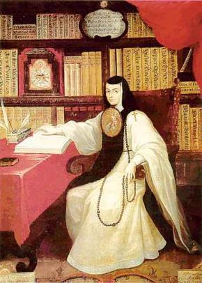Sor Juana é considerada a última grande poetisa dos anos de ouro da literatura em espanhol.
