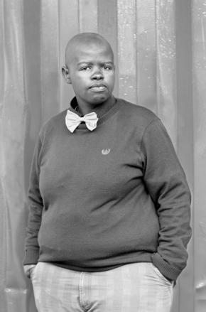 Lungile Cleo Dladla, KwaThema Community Hall Springs Johannesburg 2011 from the series Faces and Phases.