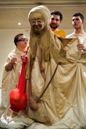 GABO. Foto publicada na página de Facebook do Teatro Viriato.