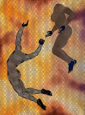 Sthenjwa Luthuli. 'Spirit Liberation' Ukukhululwa Komoya, 2020. Ross-Sutton Gallery