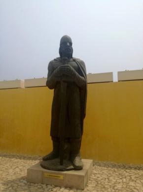 Estátua de Afonso Henriques, foto de Marta Lança