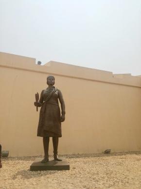 Estátua de Rainha Ginga, foto de Marta Lança