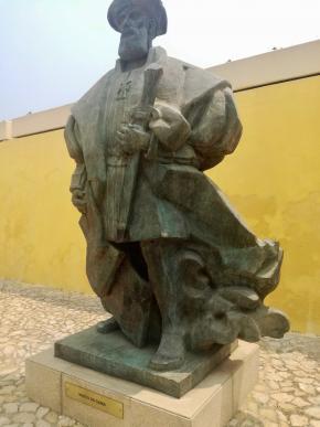 Estátua de Vasco da Gama, foto de Marta Lança