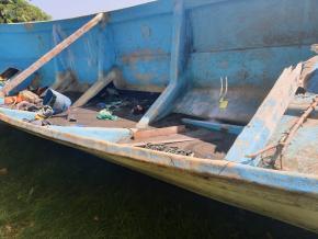 As autoridades suspeitam que a embarcação andou à deriva por vários meses (George Leacock)