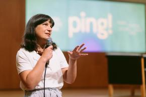 Matilde Seabra, curadora dos programas públicos do ping!
