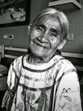Maria Sabina descendia de uma linhagem de xamãs e curandeiros mazatecos