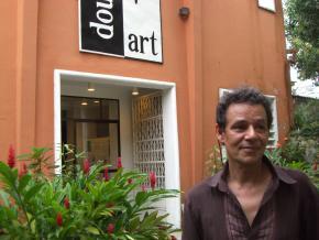 Didier Schaub, artistic director of Doual'art, Douala (Bonanjo)