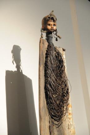 Gérard Quenu, 'Benin está vivo ainda lá  Ancestralidade e Contemporaneidade', Museu Afro Brasil.