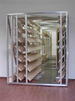 Ângela Ferreira, Maison Tropicale, 2007 Installation view, Pavilhão de Portugal, 52ª Bienal de Veneza, Photo Roger Meintjes
