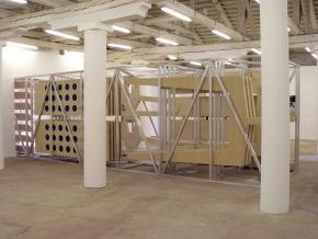 Ângela Ferreira, Maison Tropicale, 2007 Installation view, Pavilhão de Portugal, 52ª Bienal de Veneza, foto de Mário Valente