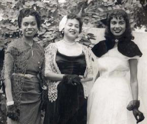 Ana Maria, Mimi e Tazinha.
