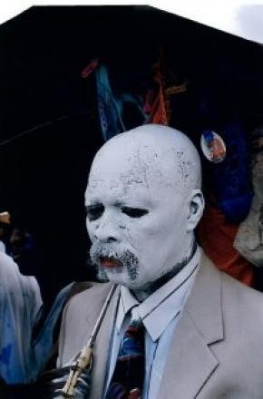 Zak Ové, 'The Devil is White', da série «Transfigura» (2004)