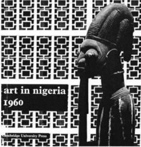 Capa do livro de Ulli Beier, por ocasião da independência da Nigéria.
