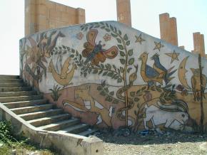 Jardim infantil João de Deus, Lobito, obra de Castro Rodrigues, fotografia Cristina Salvador