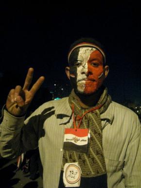 fotografia de Alexandra Lucas Coelho, na praça Thrair, 11/2/2011