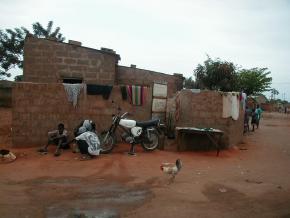 Casa do bairro Boa Esperança, em Luanda.