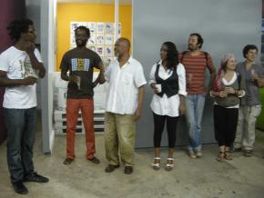 Cacau, René Tavares, Kwame Sousa, JCS e Kátia Aragão, foto ML