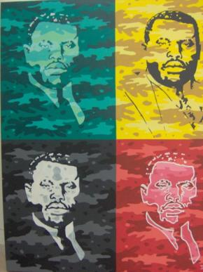 Marcus Garvey, by Ihosvanny, 2006 / Sindika Dokolo Foundation