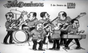 agrupamento João Domingos numa caricatura de João Domingos