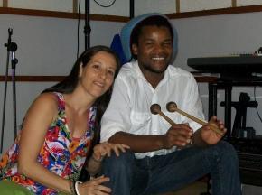Denise Guerra e Matchume Zango