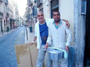 Mito Elias e Filinto Elísio, desde os tempos da 'Sopinha de Alfabeto' aos dias de hoje, a cozinha continua... (arquivo pessoal de Mito Elias)