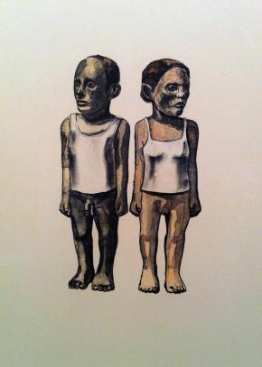 The Couple, Claudette Schreuders, 2003.