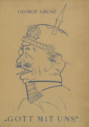 Gott mit uns, George Grosz, 1920.