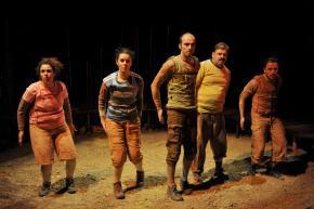 elenco, foto de Pedro Soares