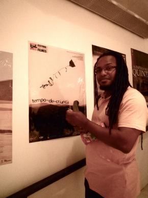 Tambla Almeida, cineasta caboverdeano, foto Buala