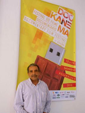Pedro Pimenta, director do Dockanema