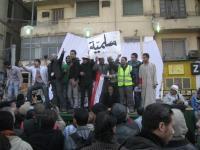 revolução: os dias seguintes na praça Tahrir